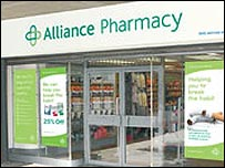 Alliance UniChem store