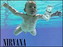 Nirvana's Nevermind album cover