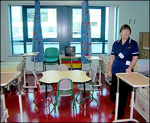 Children's Hospital for Wales four-bed unit