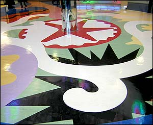 Children's Hospital for Wales reception floor