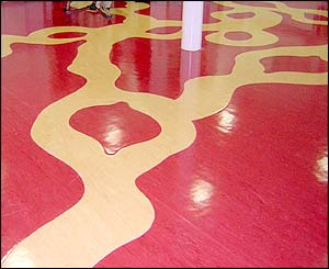 Children's Hospital for Wales floor pattern