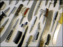 The bill will address the problem of knife crime