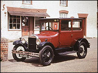 A 1926 Model T Ford