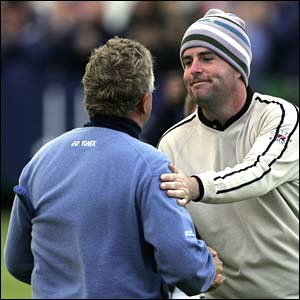 Colin Montgomerie and Kenneth Ferrie
