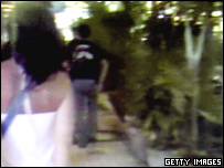 Video footage of suspected bomber (in black top and jeans)