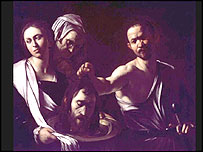 Caravaggio's Salome Receives the Head of St. John the Baptist