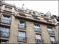 Herve Gaymard's former Paris flat