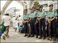 Bangladeshi policemen