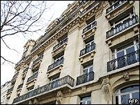 Herve Gaymard's flat in Paris