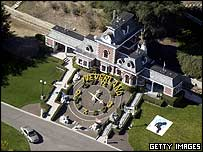 Michael Jackson's Neverland ranch in California