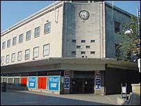 Former David Evans building