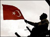 Manifestación en Turquía.