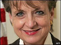 File photograph of Harriet Miers