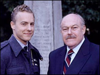 Samuel West and Timothy West in BBC drama Over Here (1996)