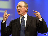 Sir Malcolm Rifkind delivers his speech