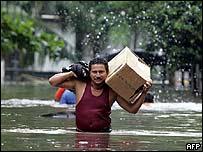Inundaciones en Centro Am�rica