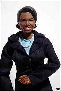 Action doll of Condoleezza Rice
