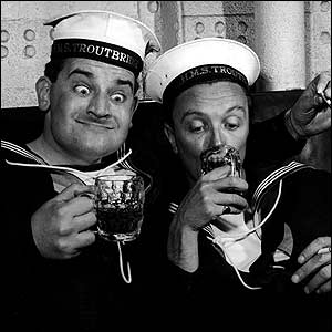 Ronnie Barker in The Navy Lark