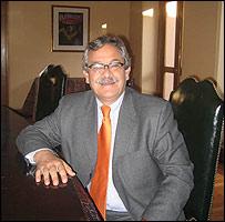 Eduardo Pizarro, presidente de la Comisi�n de Reparaci�n y Reconcialici�n