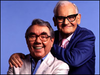 Ronnie Corbett and Ronnie Barker
