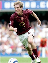 Arsenal midfielder Alexander Hleb