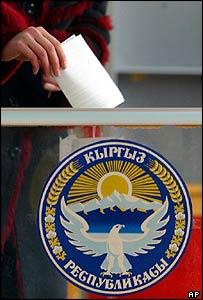 Kyrgyz voter