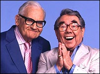 Ronnie Barker and Ronnie Corbett in 2004