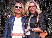 Tabitha Schneider and Anja Witossek