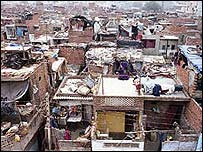 Slum in Delhi