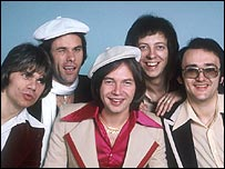 The Rubettes in the mid-1970s