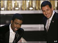 Chris Rock and Adam Sandler