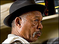 Morgan Freeman in Million Dollar Baby