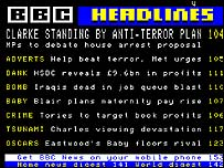 Ceefax front page