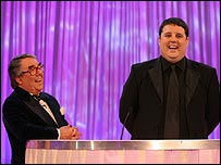 Peter Kay and Ronnie Corbett