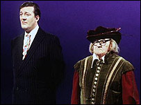 Stephen Fry and Ronnie Barker