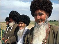 Туркменские аксакалы