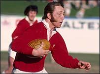 Wales rugby legend JPR Williams