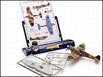 Airfix model plane kit