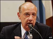 Roberto Lavagna, Argentina's Economy Minister