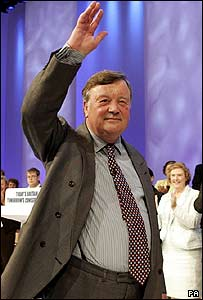 Ken Clarke after his conference speech