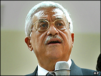Mahmoud Abbas, Palestinian Authority president