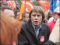 French union leader Bernard Thibault