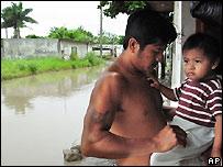 V�ctimas de la tormenta Stan en Veracruz, M�xico