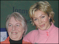 Edna Kennedy and Nell McAndrew