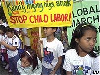 Marcha contra el trabajo infantil