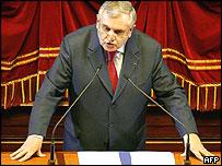 Prime Minister Jean-Pierre Raffarin