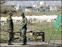Syrian troops in Lebanon