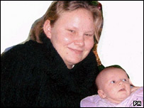 Claire Ford, 19, and 18-month-old Charlotte Adams, known as Charlie