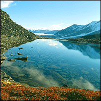 Rock Basin Lake, Canadian Arctic, Queen's University