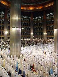 Muslims in Indonesia mark the beginning of Ramadan